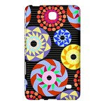 Colorful Retro Circular Pattern Samsung Galaxy Tab 4 (8 ) Hardshell Case