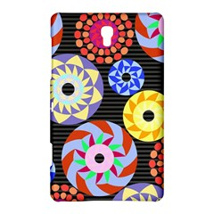 Colorful Retro Circular Pattern Samsung Galaxy Tab S (8 4 ) Hardshell Case  by DanaeStudio