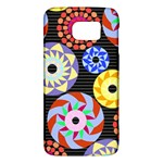 Colorful Retro Circular Pattern Galaxy S6