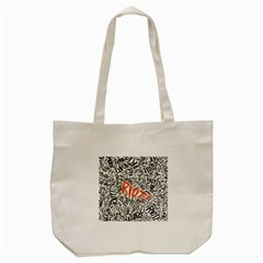 Paramore Is An American Rock Band Tote Bag (cream) by Onesevenart