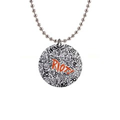 Paramore Is An American Rock Band Button Necklaces by Onesevenart