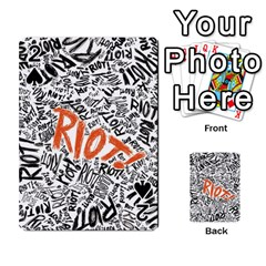 Paramore Is An American Rock Band Playing Cards 54 Designs  by Onesevenart