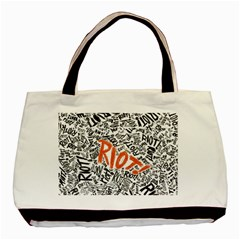 Paramore Is An American Rock Band Basic Tote Bag (two Sides) by Onesevenart