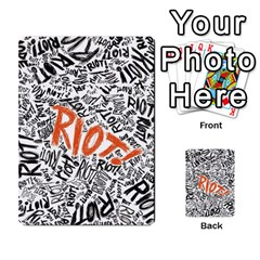 Paramore Is An American Rock Band Multi Purpose Cards (rectangle)  by Onesevenart