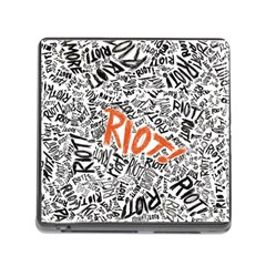 Paramore Is An American Rock Band Memory Card Reader (Square)