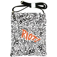Paramore Is An American Rock Band Shoulder Sling Bags by Onesevenart