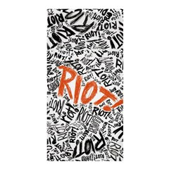 Paramore Is An American Rock Band Shower Curtain 36  X 72  (stall)  by Onesevenart