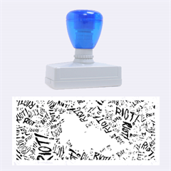 Paramore Is An American Rock Band Rubber Stamps (large) by Onesevenart
