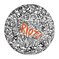 Paramore Is An American Rock Band Ornament (round Filigree)  by Onesevenart