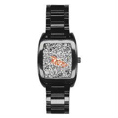 Paramore Is An American Rock Band Stainless Steel Barrel Watch by Onesevenart