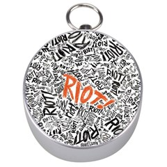 Paramore Is An American Rock Band Silver Compasses by Onesevenart