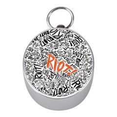 Paramore Is An American Rock Band Mini Silver Compasses by Onesevenart
