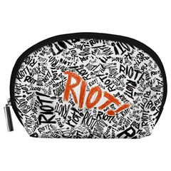 Paramore Is An American Rock Band Accessory Pouches (large)  by Onesevenart