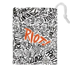 Paramore Is An American Rock Band Drawstring Pouches (xxl) by Onesevenart