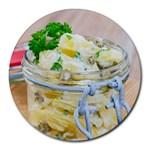 1 Kartoffelsalat Einmachglas 2 Round Mousepads