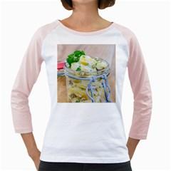 1 Kartoffelsalat Einmachglas 2 Girly Raglans