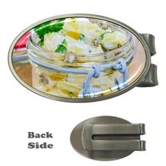 1 Kartoffelsalat Einmachglas 2 Money Clips (oval)  by wsfcow