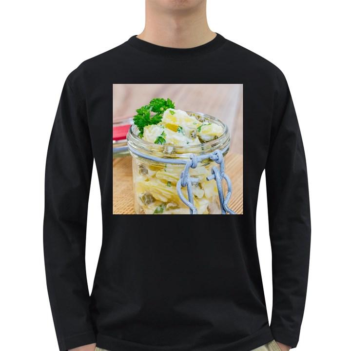 1 Kartoffelsalat Einmachglas 2 Long Sleeve Dark T-Shirts