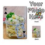 1 Kartoffelsalat Einmachglas 2 Playing Cards 54 Designs  Front - SpadeK