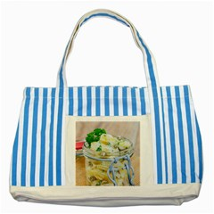 1 Kartoffelsalat Einmachglas 2 Striped Blue Tote Bag
