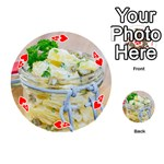 1 Kartoffelsalat Einmachglas 2 Playing Cards 54 (Round)  Front - Heart4