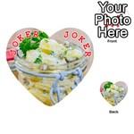 1 Kartoffelsalat Einmachglas 2 Playing Cards 54 (Heart)  Front - Joker2