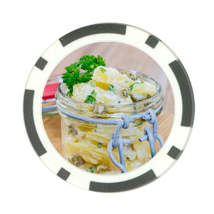 1 Kartoffelsalat Einmachglas 2 Poker Chip Card Guards
