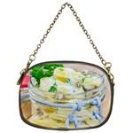 1 Kartoffelsalat Einmachglas 2 Chain Purses (One Side)  Front
