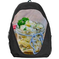 1 Kartoffelsalat Einmachglas 2 Backpack Bag