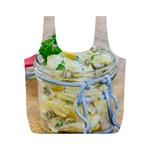 1 Kartoffelsalat Einmachglas 2 Full Print Recycle Bags (M)  Front