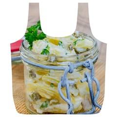 1 Kartoffelsalat Einmachglas 2 Full Print Recycle Bags (l)
