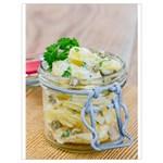 1 Kartoffelsalat Einmachglas 2 Drawstring Bag (Large) Front