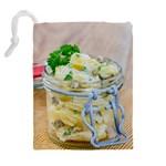 1 Kartoffelsalat Einmachglas 2 Drawstring Pouches (Extra Large) Back