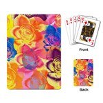 Pop Art Roses Playing Card Back