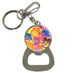 Pop Art Roses Bottle Opener Key Chains by DanaeStudio