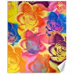 Pop Art Roses Canvas 16  x 20   20 x16 Canvas - 1