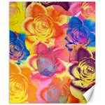 Pop Art Roses Canvas 20  x 24   24 x20 Canvas - 1