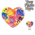 Pop Art Roses Playing Cards 54 (Heart)  Front - Club2
