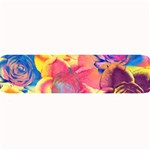 Pop Art Roses Large Bar Mats 34 x9.03 Bar Mat - 1