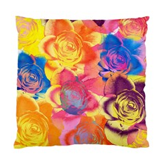 Pop Art Roses Standard Cushion Case (one Side)