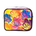 Pop Art Roses Mini Toiletries Bags Front