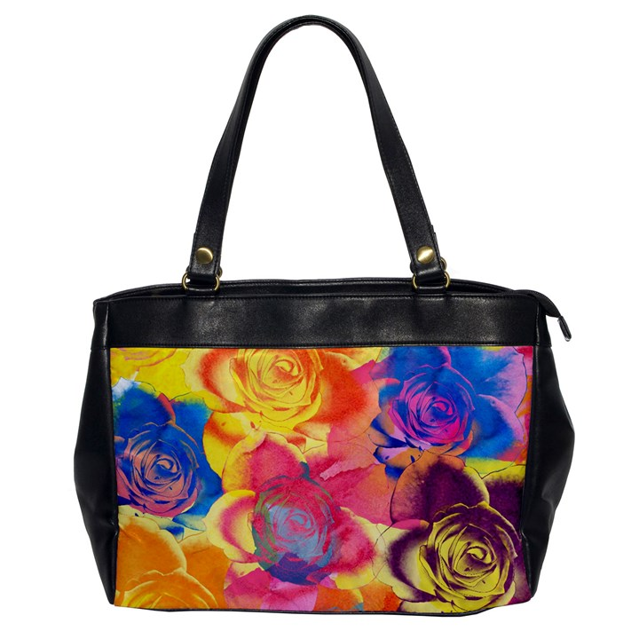 Pop Art Roses Office Handbags