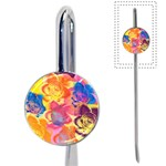 Pop Art Roses Book Mark Front