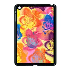 Pop Art Roses Apple Ipad Mini Case (black)