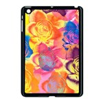 Pop Art Roses Apple iPad Mini Case (Black) Front