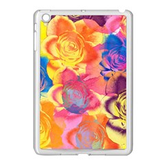 Pop Art Roses Apple Ipad Mini Case (white)
