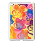 Pop Art Roses Apple iPad Mini Case (White) Front