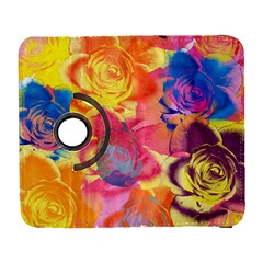 Pop Art Roses Samsung Galaxy S  Iii Flip 360 Case by DanaeStudio
