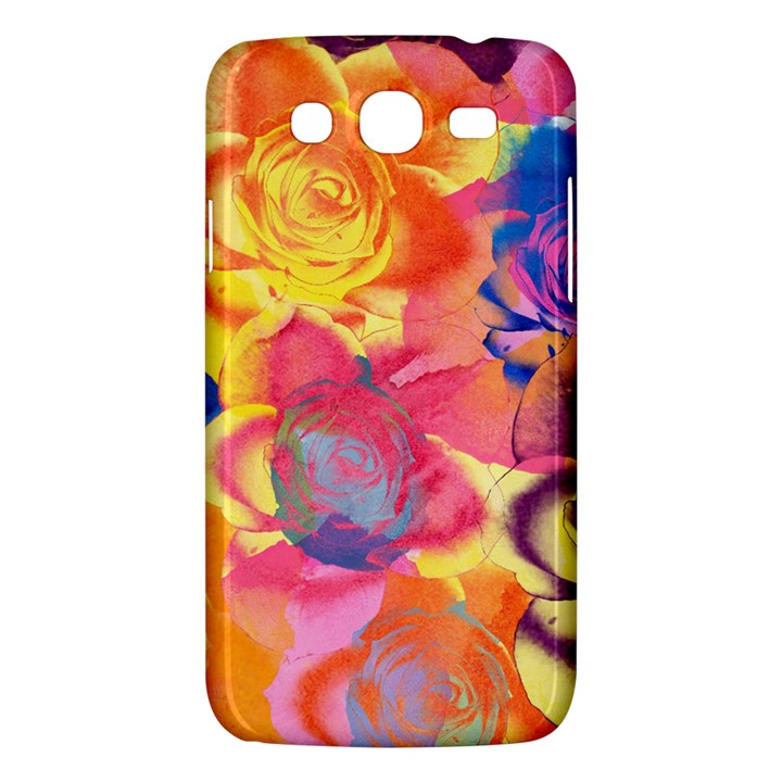 Pop Art Roses Samsung Galaxy Mega 5.8 I9152 Hardshell Case
