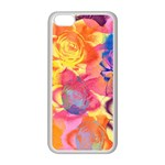 Pop Art Roses Apple iPhone 5C Seamless Case (White) Front
